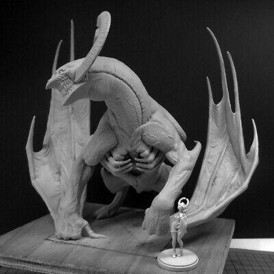 135MM Dragon King Resin Model for Kingdom Death Resin Figure