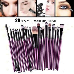 20pcs-Makeup-Brushes-Kit-Set-Powder-Foundation-Eyeshadow-Eyeliner-Lip-Brush-Tool
