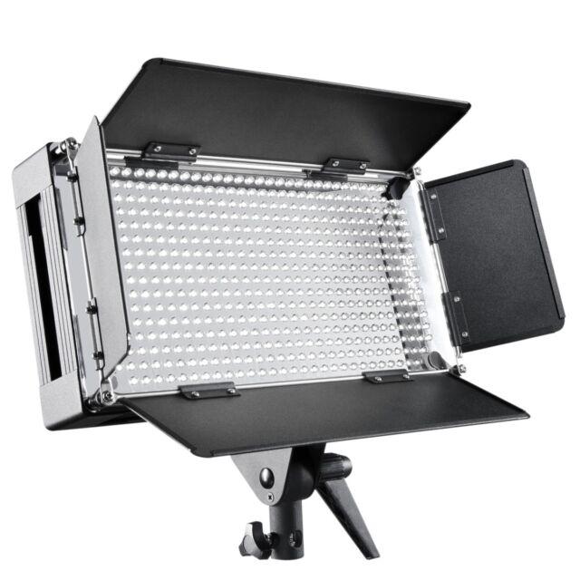 walimex pro LED 500 Dimmbare Flächenleuchte / Videoleuchte / Studio Dauerlicht