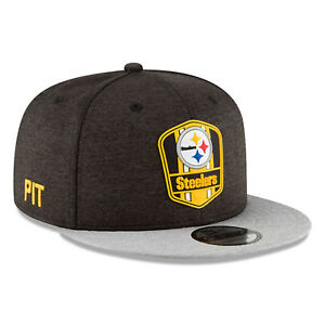 8e57ce3f5 Image is loading 2018-Pittsburgh-Steelers-New-Era-9FIFTY-NFL-Sideline-