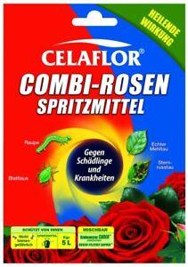 Celaflor Combi Rosen Spritzmittel Konzentrat 100 ml gegen Pilz + Schädlinge