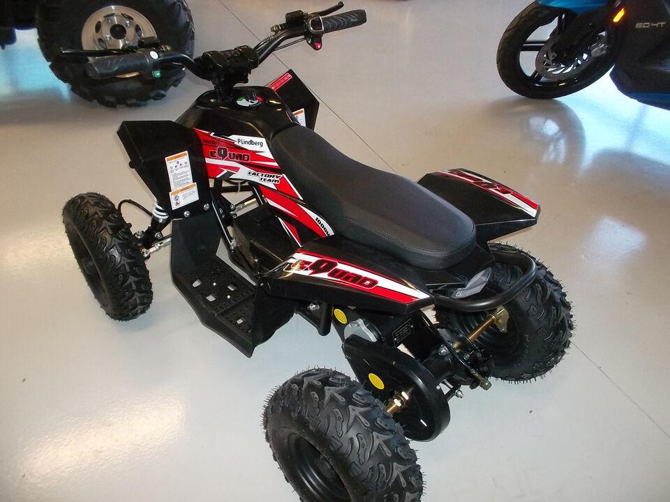 EL - ATV til børn, Fabriksny maskine