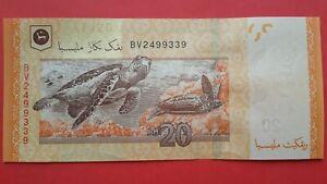 13th Series Malaysia Muhammad Ibrahim RM20 Banknote ( BV2499339 ) - UNC