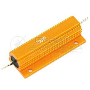 Resistenza Corazzata 0.33 Ohm 100 Watt Corpo In Alluminio 100w 100watt