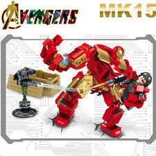 MARK15 MK15 Avengers Iron Man War Machine Super heroes Minifigures Kids Toys