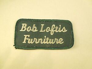 Image Is Loading Vintage Bob Loftis Furniture Logo Company Iron On