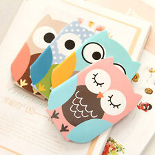 Cute List Notepad Pocket Cartoon Journal Portable Notebook Shopping Owl Diary