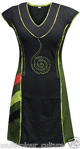 Women-Hippie-Festival-Dress-Casual-Gypsy-Hippy-Boho-Bohemian-Vintage-Style-Tunic