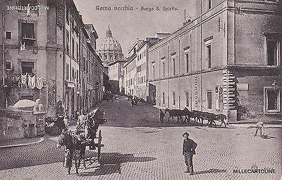 ROMA VECCHIA - BORGO S. SPIRITO (S. PIETRO) Ed. Brunner 6824