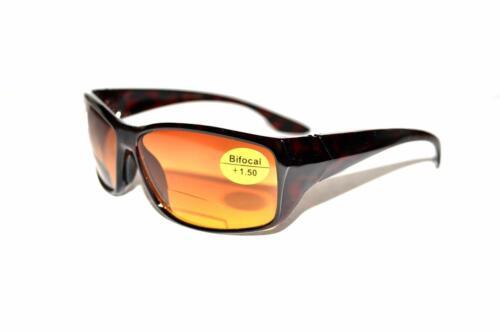 ANTIRREFLEJO Bifocal Gafas de sol EF16 Choice fortalezas /& COLOURS Plus Bolsa /& Cloth