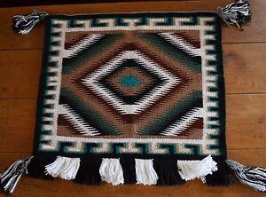 Image Is Loading Old Vintage Navajo Rug Sunday Blanket Native American