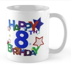 Image Is Loading 8 Years 8th Birthday Small Gift Idea Mug
