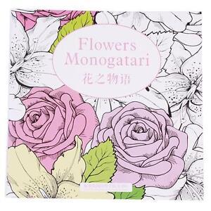 Image Is Loading Fun Flowers Monogatari Of Secret Garden Series Coloring