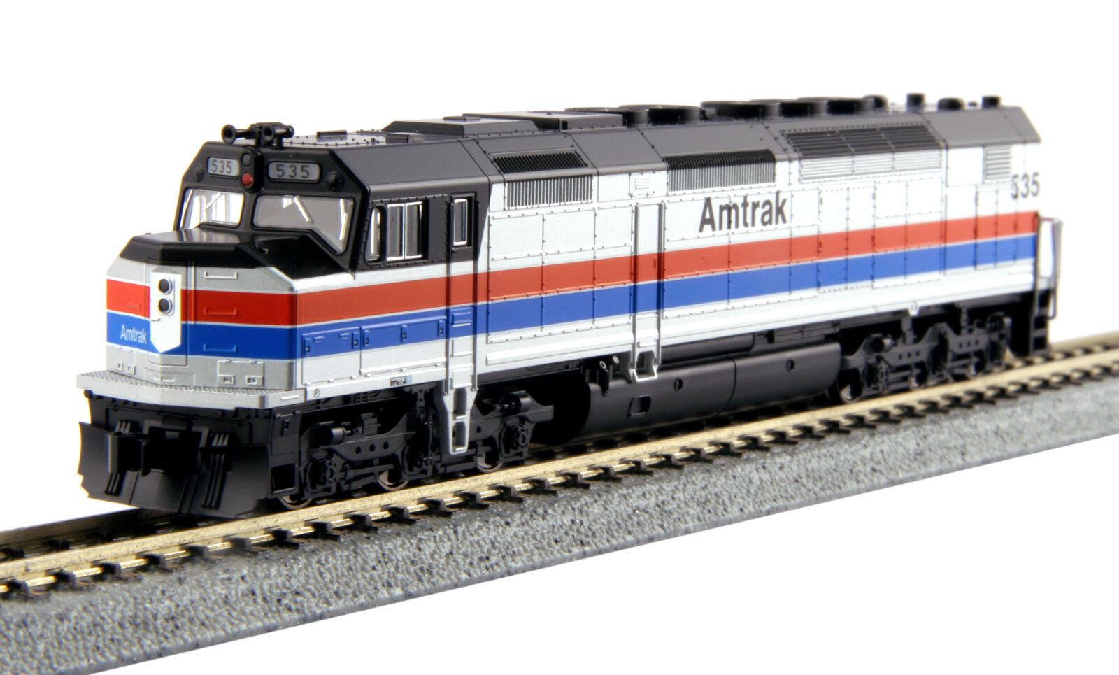 N Scale EMD EMD EMD SDP40F Locomotive (Type I Body) - Amtrak Ph II  535 - KATO  176-9204 a93ffb