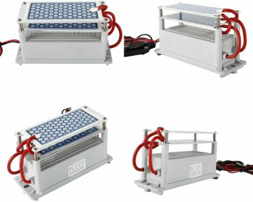 12V Ozone Generator 10g Portable For Car Ceramic Plate Air Sterilizer USA