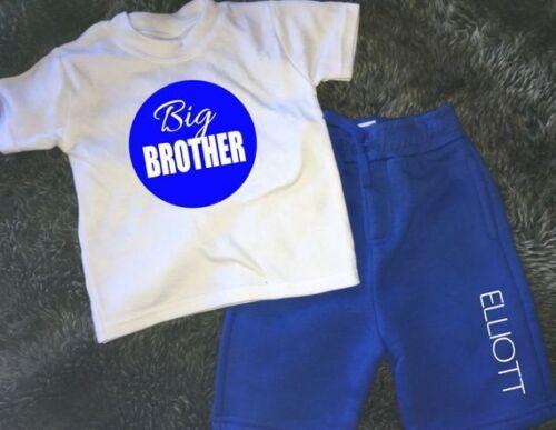 Personalised Big Brother  bro kids shorts and t-shirt set