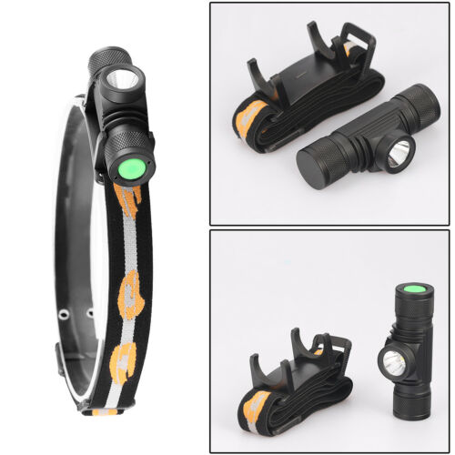 Waterproof USB XM L2//T6 LED Headlamp Flashlight BikeLight 18650 Rechargeable