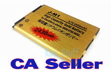 Gold High Capacity BlackBerry JM1 2430mAh Battery BOLD 9790 9900 9930