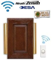 Desa Elegance 48 - Wireless Cordless Door Bell Chime Kit & Wireless Push Button