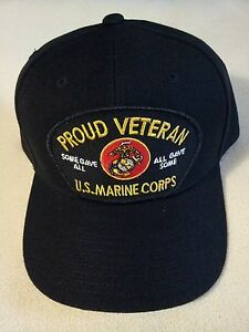 6e0a539b9ee Image is loading U-S-MARINE-CORPS-PROUD-VETERAN-SOME-GAVE-ALL-