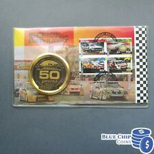 2012 50 YEARS OF RACING AT BATHURST MEDALLION COVER