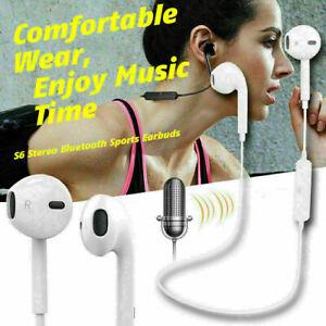Sweatproof Wireless Bluetooth Cuffie Auricolari Sport Palestra Per Samsung iPhone