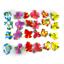 Artificial-Silk-Hibiscus-Flower-Leaves-Luau-Hawaiian-Island-Theme-Party-Supplies thumbnail 1