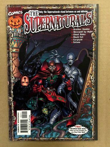 W// GARGOYLE MASK Marvel Comics Supernaturals #2 Ghost Rider Bryan Pulido NM