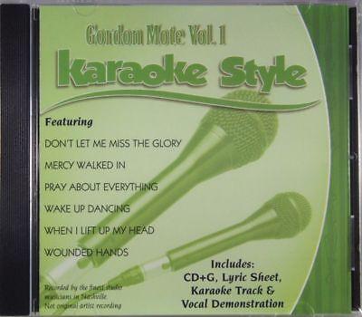 Karaoke Cdgs, Dvds & Media Musical Instruments & Gear Fashion Style Gordon Mote Volume 1 Christian Karaoke Style New Cd+g Daywind 6 Songs