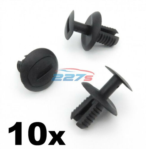 10x 8mm Wheel Arch Lining /& Rear Bumper Clips to fit the VW UP /& VW Crafter