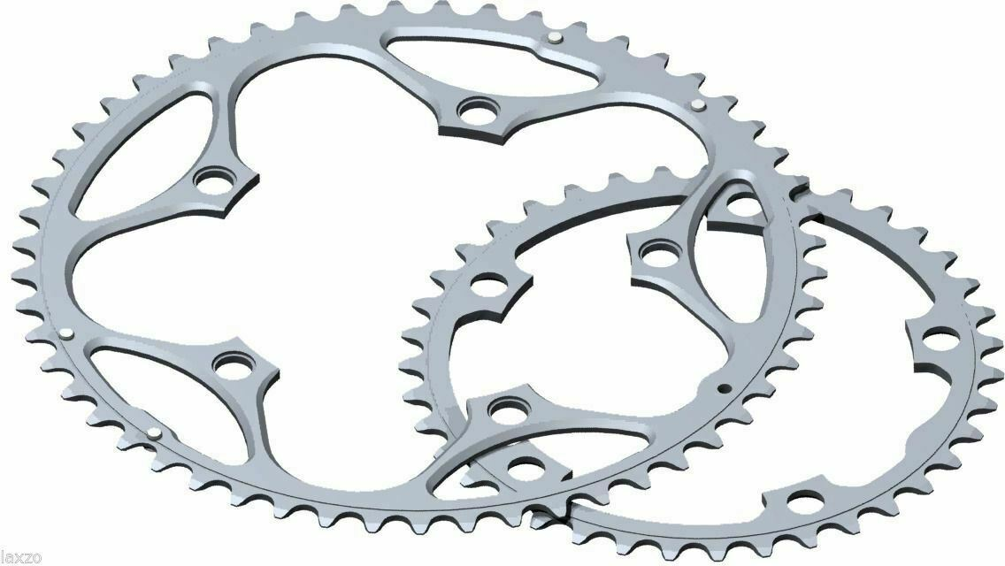 Outer inner tray 9//10v stronglight alu 5083 type s 110 mm chainring