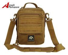 Phantom Cordura Tactical Molle Shoulder Sling Bag Military Backpack Coyote Brown