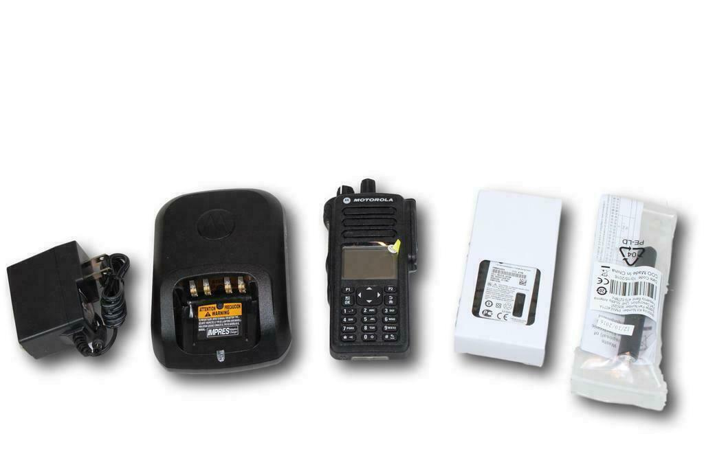 NEW Motorola Mototrbo XPR7550e UHF 403-470MHz Color Display Digital Portable. Available Now for 499.95