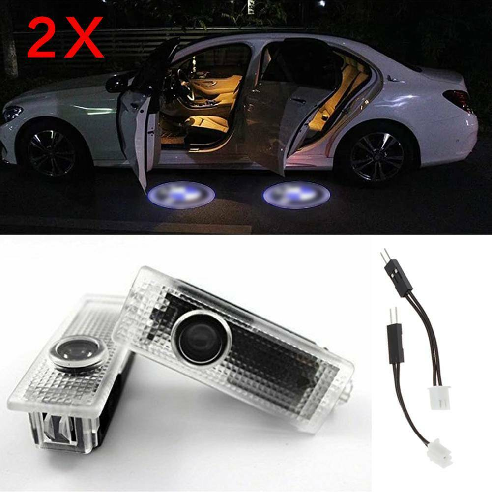 Car Universal Wireless Door Logo Led Welcome Light Projection Lamp Light DC 5V Car Door Projector Light Car Accessories for All Vehicle for Audi
