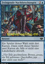 4x Zwingende Nachforschungen (Compulsive Research) Commander 2014 Magic