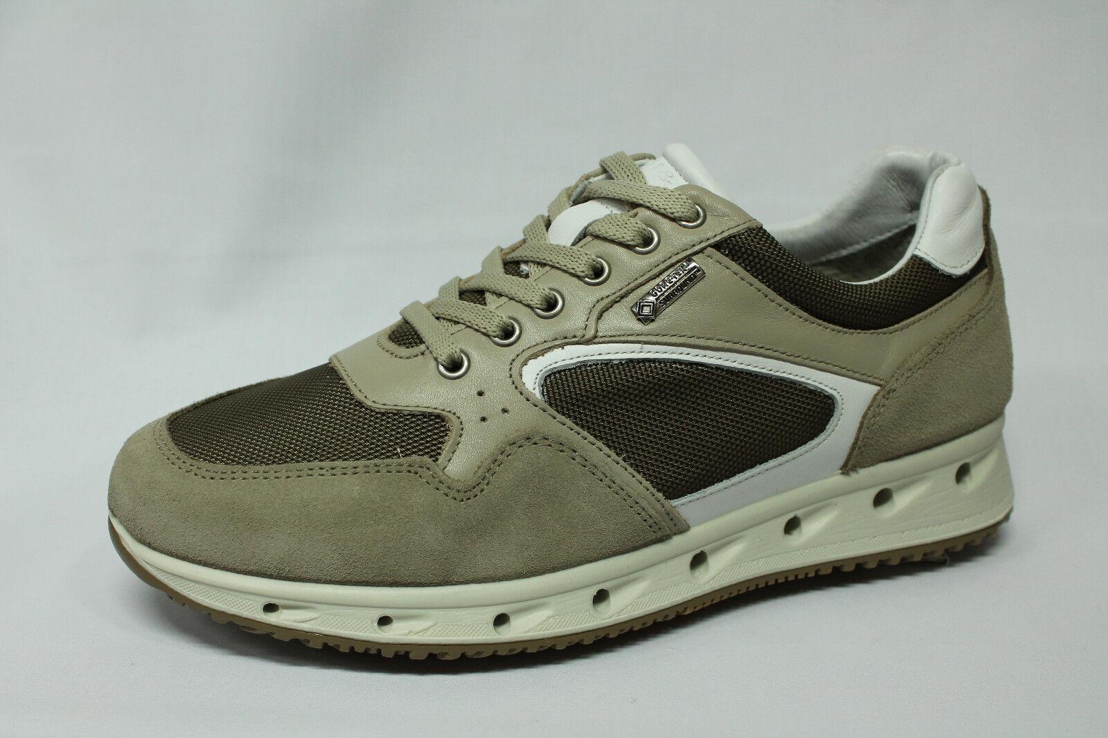 Sneakers Igi&co 1119022 1119022 1119022 pelle e tessuto beige Gore Tex Surround Made in Italy 45c348