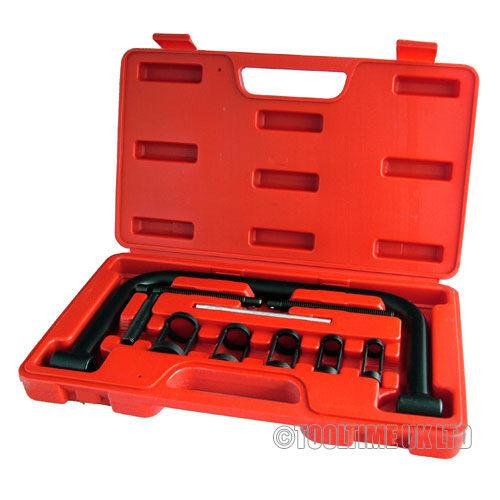 10PC 5-in-1 AUTO VALVE SPRING COMPRESSOR TOOL SET FOR CARS MOTORCYCLES BIKES