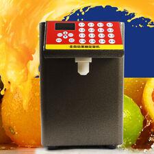 Fructose Quantitative Machine Fit Milk Tea Soft Drink Sugar Syrup Dispenser 400w