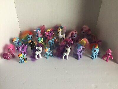 My Little Pony Lot Of 22 Princess Brushables Mcdonalds Ebay