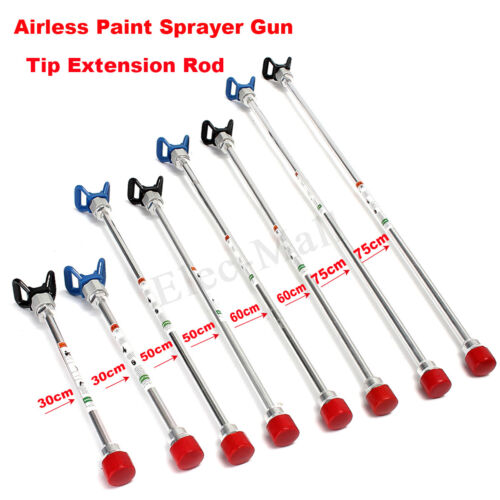 Base 30-70CM Airless Paint Sprayer Spray Gun Tip Extension Pole Rod