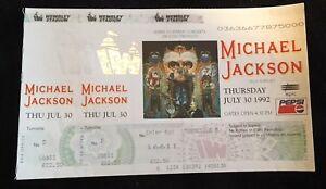 Rare-Unused-Michael-Jackson-Dangerous-Wembley-Concert-Tickets-July-30th-1992