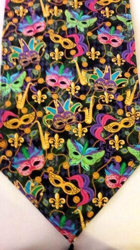 Reversible /& padded Handmade. Mardi Gras Table Runner w//Starburt Back 40x14