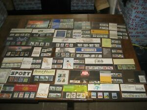 40-X-ROYAL-MAIL-POST-OFFICE-SETS-NEW-JOB-LOT-MIXED-VINTAGE-STAMP-COLLECTIONS