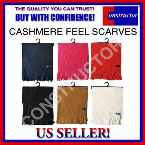 SKU: DZY1231 CASHMERE FEEL SCARF AVAILABLE IN 6 COLORS FOR ONLY $5.99!