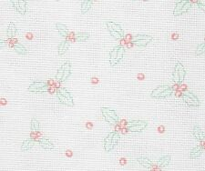 Fabric Flair - Holly 16 count Aida - 45 x 50cm piece -  Ideal for cross stitch