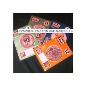 numismatica-lotto-4-riviste-SOLDI-anni-80-gt-gt-gt-gt-ocCASIONE
