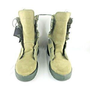 Wellco Steel Toe Bottes De Womne Taille 7 W 80055-004 Vert Sauge Militaire Combat-afficher Le Titre D'origine