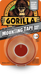 Gorilla-Heavy-Duty-Mounting-Tape-Double-Sided-Weatherproof-Crystal-Clear-Fix