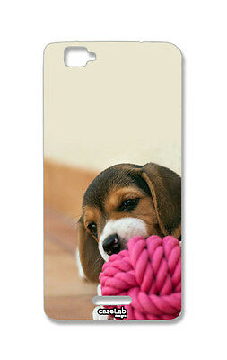 CUSTODIA COVER CASE CANE MORDE BEAGLE PER WIKO RAINBOW