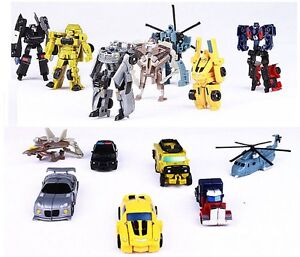 Transformers-Robot-Car-Optimus-Prime-Bumble-Bee-Classic-Figure-Toys-Kids-Gift-US